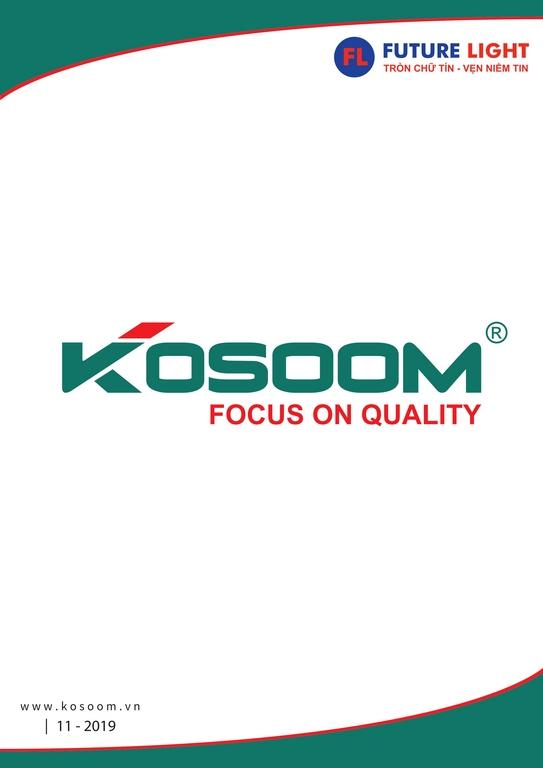 bảng giá đèn Koosom