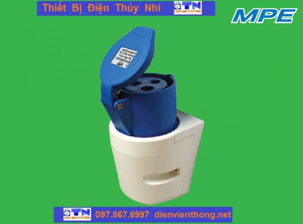 Ổ cắm gắn nổi MPN-123 32A-2P E-IP44 MPE