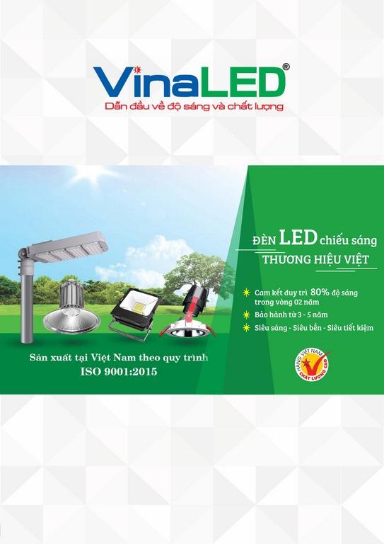 Bảng giá đèn chiếu sáng VINALED