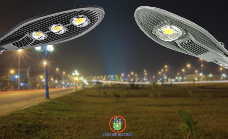 Đèn led chiếu sáng ngoài đường