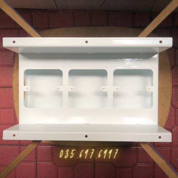 Hộp điện âm bàn sắt sơn tĩnh điện 170x140