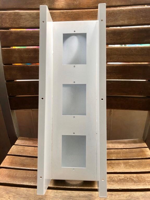 Hộp điện âm bàn sắt sơn tĩnh điện thiết bị chữ nhật 380x110