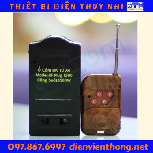 Ổ Cắm Điện Điều Khiển Từ Xa RF Plug 500 Decom