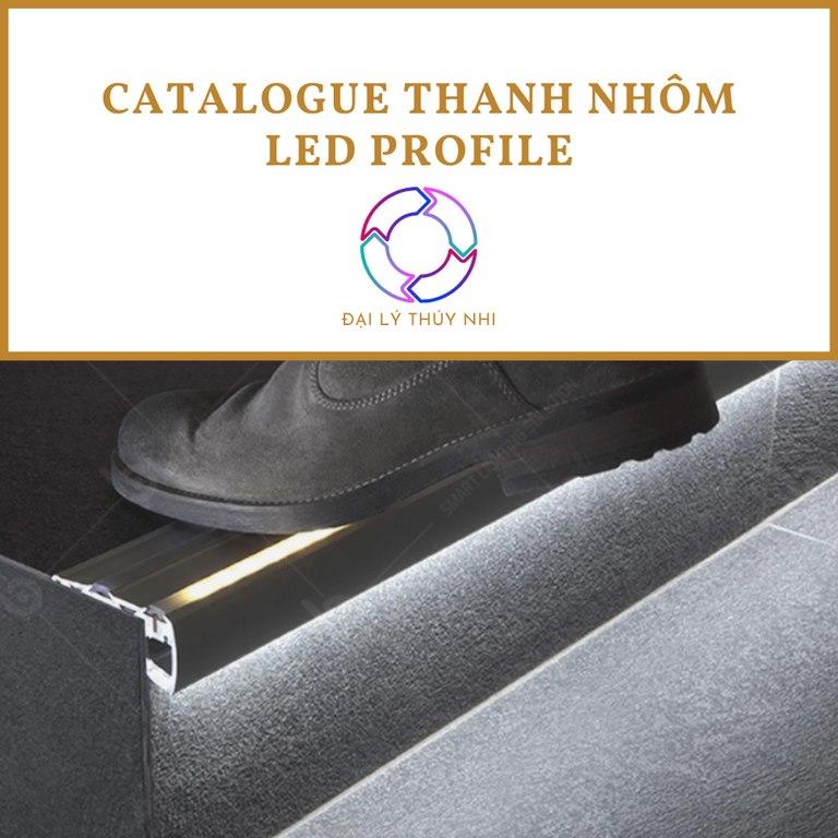 Catalogue thanh nhôm led Profile