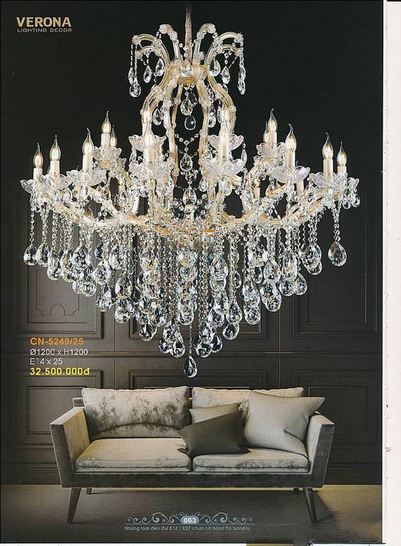 Catalogue đèn trang trí Verona lighting