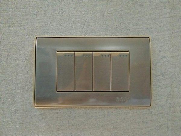 Bộ công tắc bốn 1 chiều Dobo A80-88807