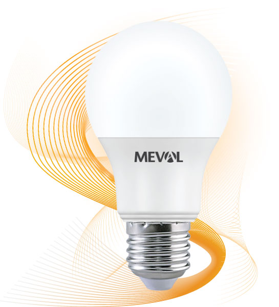 Bóng đèn led 9w Meval