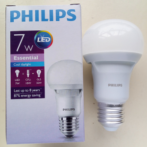 Bóng đèn led philips 7w Essential