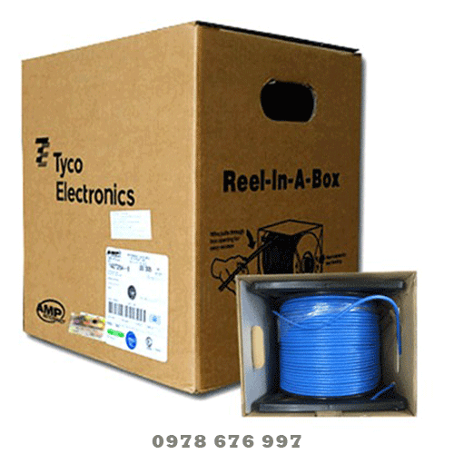 Dây mạng AMP cat6 Commscope UTP 4 pair