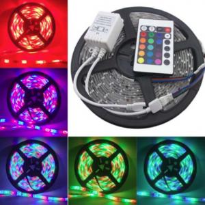 Đèn led dây trang trí nhiều màu RGB 5m