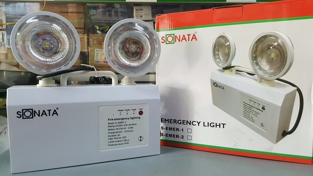 Đèn sạc chiếu sáng khẩn cấp S-EMER2 Sonata