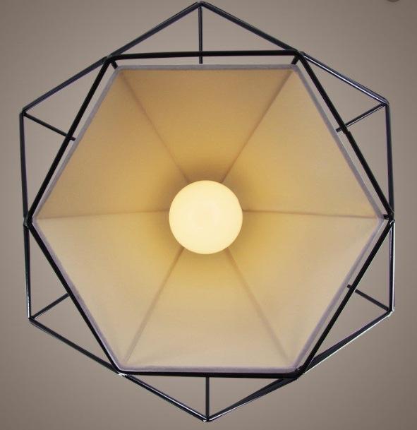 Đèn thả bàn ăn hình kim cương Lighting-home THCN-09