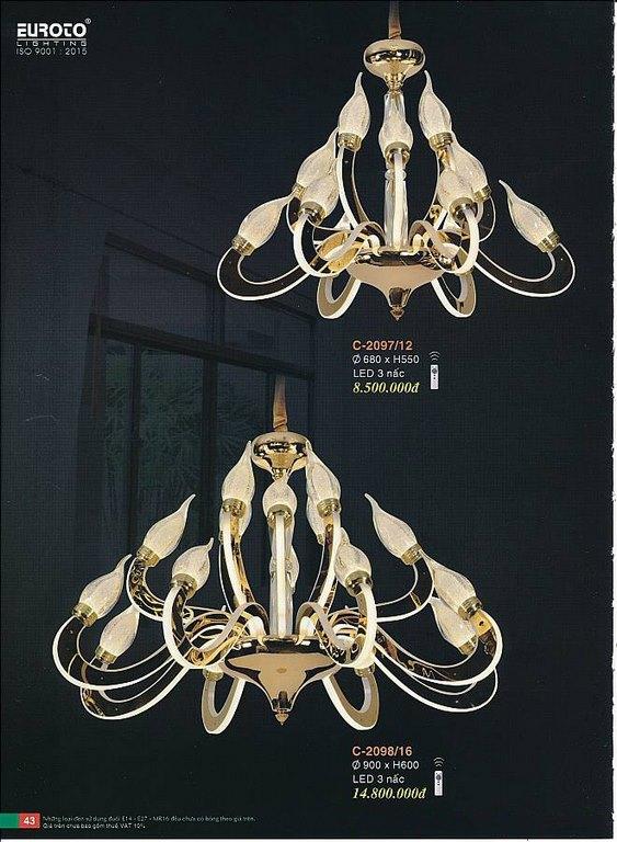Catalogue đèn trang trí EUROTO