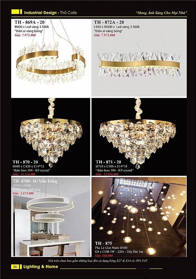 Catalogue đèn trang trí Lighting Home