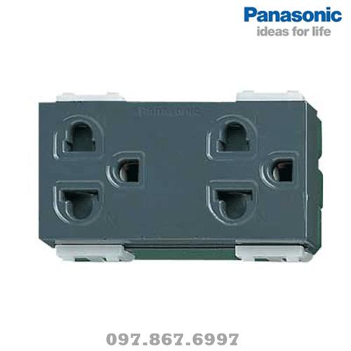 Ổ cắm điện đôi ba chấu WEV1582SW Panasonic
