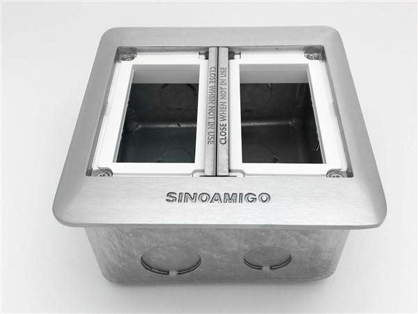 Ổ cắm âm sàn 6 thiết bị Sino Amigo SFP-2L