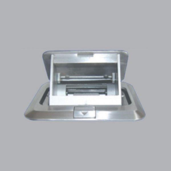 Ổ cắm âm sàn màu bạc FA-60 MPE
