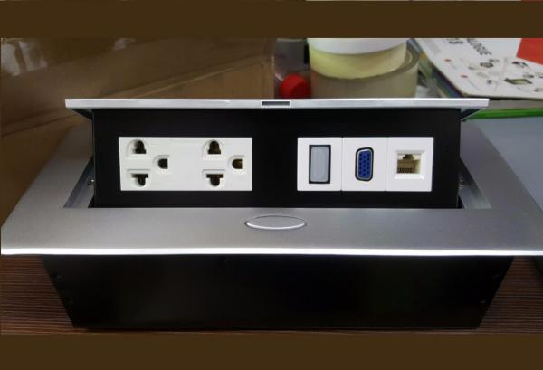 Hộp điện âm bàn Sino Amigo STS-201