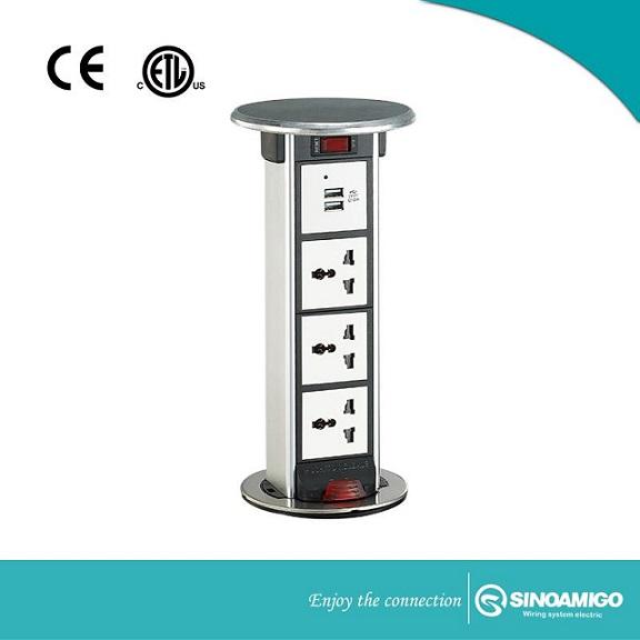 Ổ cắm điện âm bàn Sino Amigo STP-1S