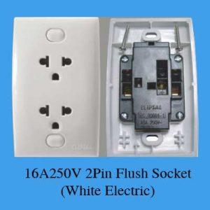 Ổ cắm điện đôi ba chấu E426UEST2 Schneider