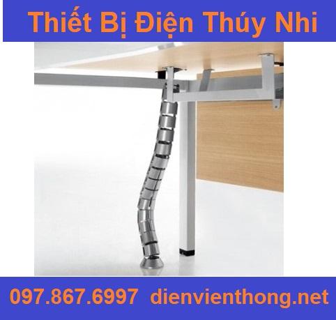 Ống luồn dây dạng xương khớp cho bàn làm việc